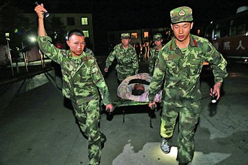 Fuerte temblor en China deja al menos nueve muertos