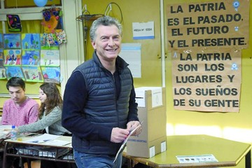 Argentina: Reñida elección da victoria al partido de Macri