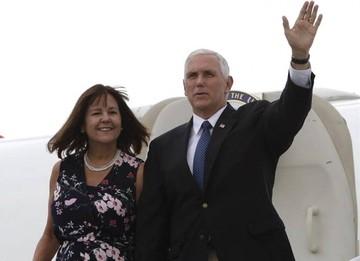 Vicepresidente de EEUU se reúne con venezolanos en Colombia
