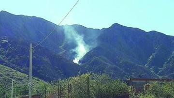 El fuego amenazó ayer en la serranía de Tarija