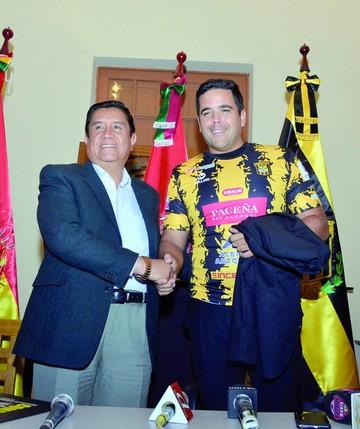 Daniel Farías asume el mando en The Strongest