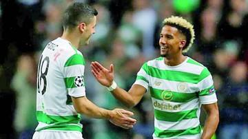Champions: Celtic, Sevilla y Napolés toman ventaja