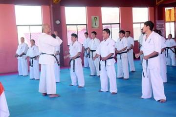 Karatecas reciben nuevos conceptos internacionales
