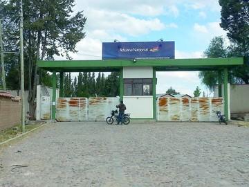 Nuevo recinto aduanero de Chuquisaca registra retraso