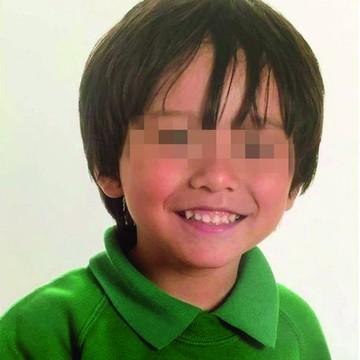 Niño desaparecido, entre los muertos del atentado