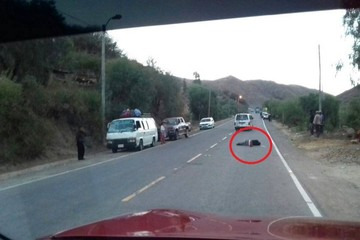 Se registra un atropello con fuga en la carretera Sucre-Yotala