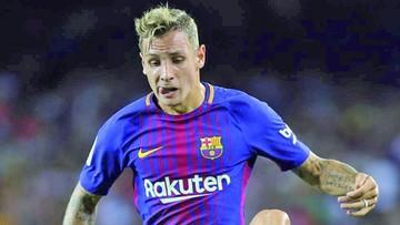 Digne, jugador del  Barcelona, auxilió a víctimas de atentado