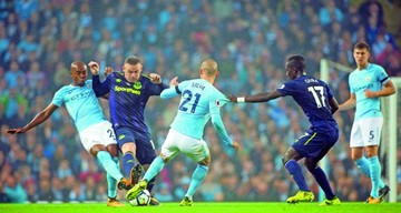 Manchester City salva un empate frente al Everton
