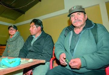 """""""El Mallku"""", en el bloqueo contra Evo en Achacachi"""
