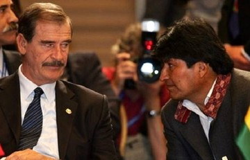 Morales pide a Fox luchar contra el muro de Trump y no contra Maduro