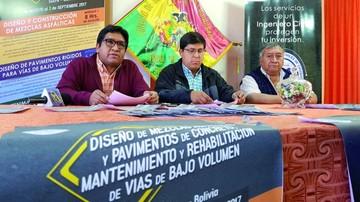 Venezolano experto en pavimentos dictará curso