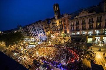 Miles marchan contra el terrorismo en Barcelona