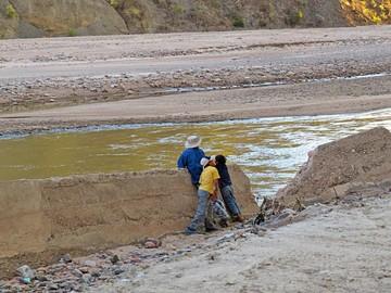 Metales aún pesan fuerte en la cuenca del Pilcomayo