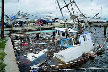 Tormenta Harvey deja inundaciones en Texas