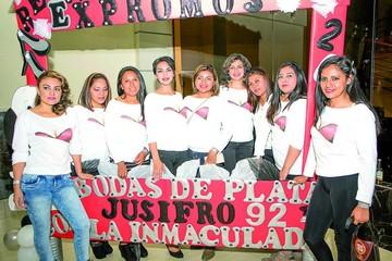 Reunión de ex promociones del colegio La Inmaculada