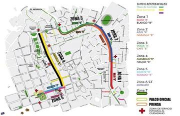 Delimitan ruta y sitios para fiesta de la Gualala