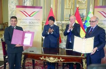 Perú promete impulsar comercio a través de Ilo