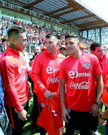 La Roja recarga confianza en Calama