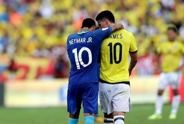Tras nueve victorias Colombia le saca un empate a Brasil