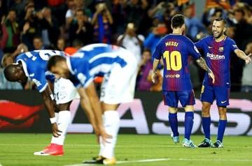 Triplete de Messi amplía la ventaja del Barça sobre el Real Madrid en liga española