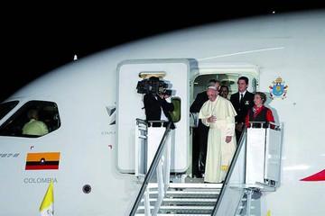 El Papa deja Colombia con un mensaje reconciliador