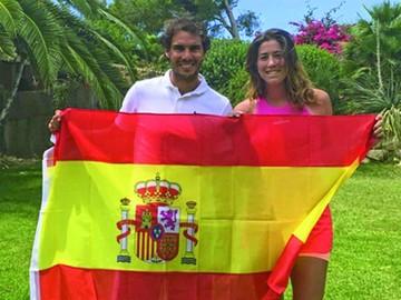 España alcanza la cima del tenis con Nadal y Muguruza