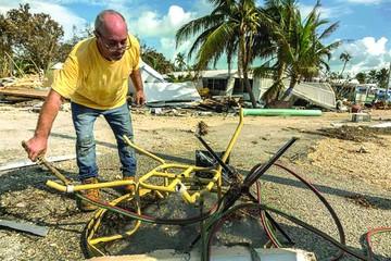 Aumentan las víctimas después del paso de Irma