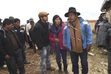 Gobierno denuncia a Felipe Quispe por secuestro de Modesto Clares