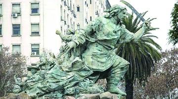 Retiran estatua que costó $us 1 millón