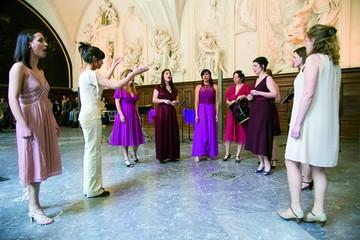 Una directora de coros en Lyon
