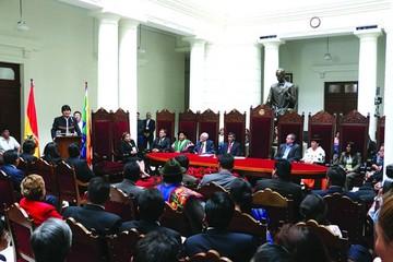 En cinco años, el Legislativo  suspende a siete magistrados