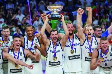 Eslovenia vence a Serbia  y alza su primer Eurobasket