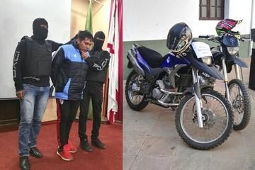 Aprehenden a antisocial que operaba en motocicleta para robar celulares