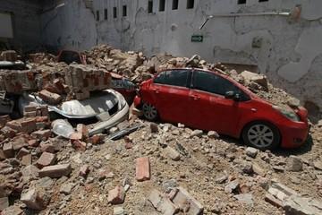 Sismo derrumba más de diez edificios en distintas zonas de Ciudad de México