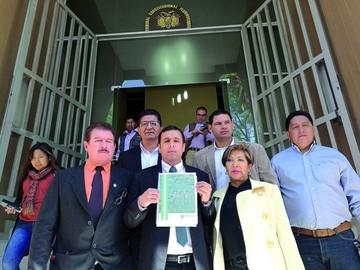 Santa Cruz reingresa su Estatuto al Constitucional