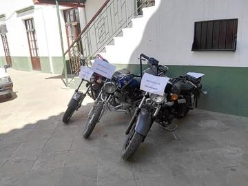 Recuperan motorizados de conductores ebrios