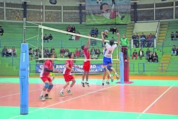 Preselecciones nacionales de voleibol llegan a Sucre