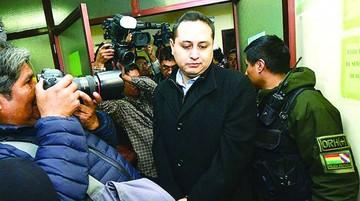 Taladros: Justicia define si libera o encarcela a Achá