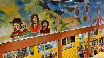 Imponente mural destaca el valor de las mujeres