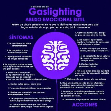 La perversidad del gaslighting