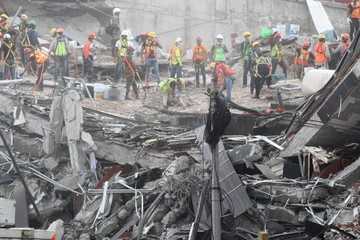 México: Se agotan esperanzas para  hallar sobrevivientes