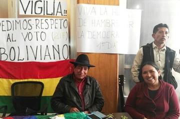 Rafael Quispe decide iniciar huelga de hambre en el TCP pidiendo que rechace recurso del MAS