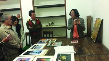 Creativo taller cerró con una exposición colectiva