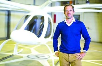 Taxis voladores: Mezcla de drones y helicópteros