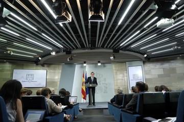 Rajoy responsabiliza al gobierno catalán de llevar a cabo un referéndum ilegal