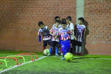 Gol de escuela