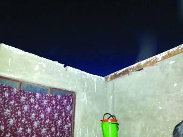 Vientos provocan daños en dos viviendas del D-6