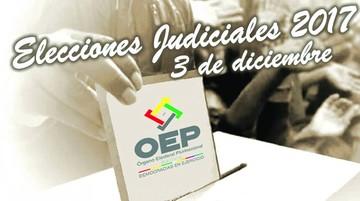 Judiciales: Candidatos acuden a las redes