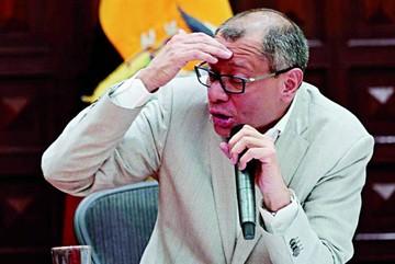 Ecuador: Prisión provisoria para el vicepresidente Glas
