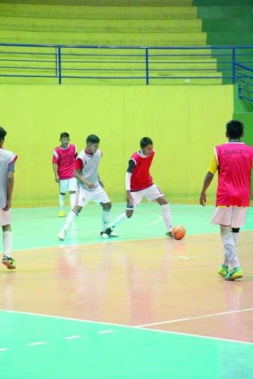 Futsal: Sub 14 busca apoyo